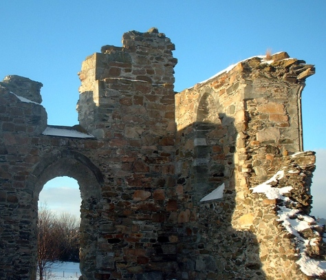 Klosterruiner på Tautra