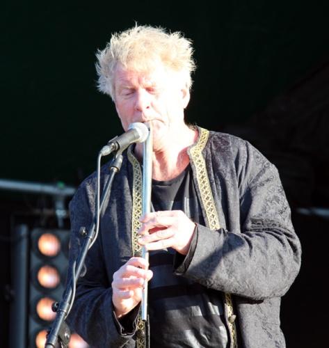 Øyvind Staveland - dyktig fløytespiller i Vamp
