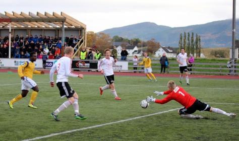 Nesets A-lag vartet opp med godt spill og hele 4 mål mot Strindheim 2!
