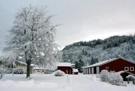 Vi får håpe at Kong Vinter pynter Hojem Gård til årets Julemarked
