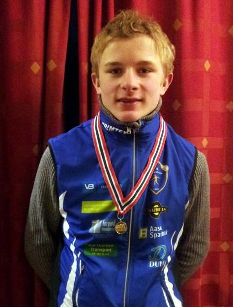 Kretsmester på ski normaldistanse G16 2016: Henrik Einangshaug