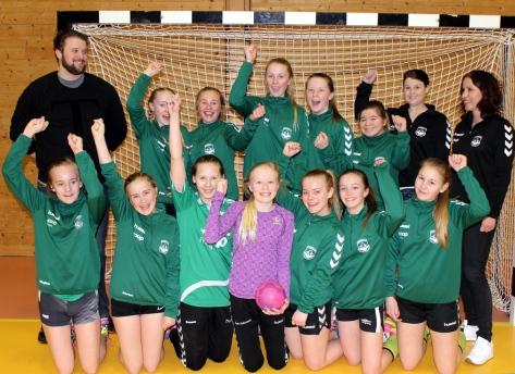 Frosta IL Jenter 13 - Seriemestre 2016